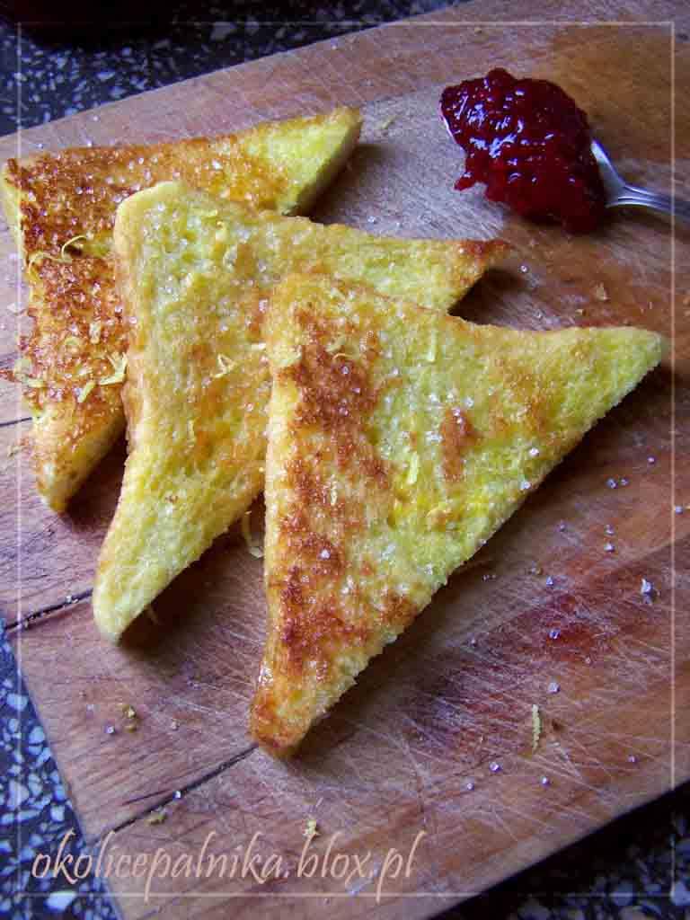 Najlepsze tosty francuskie na słodko