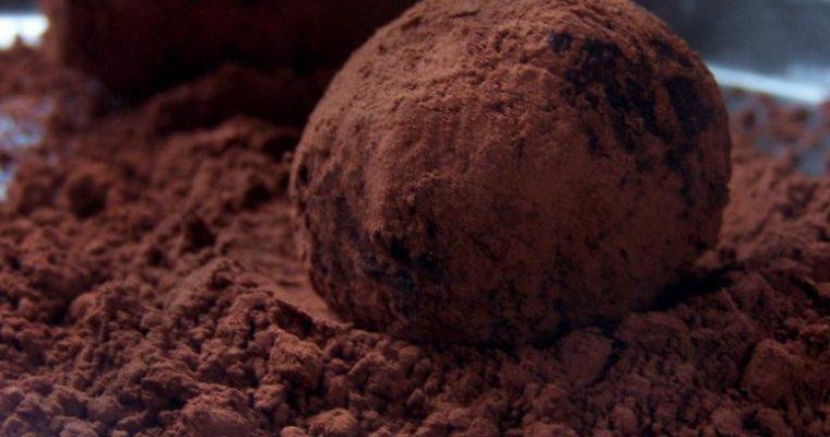 Obłędne trufle czekoladowe