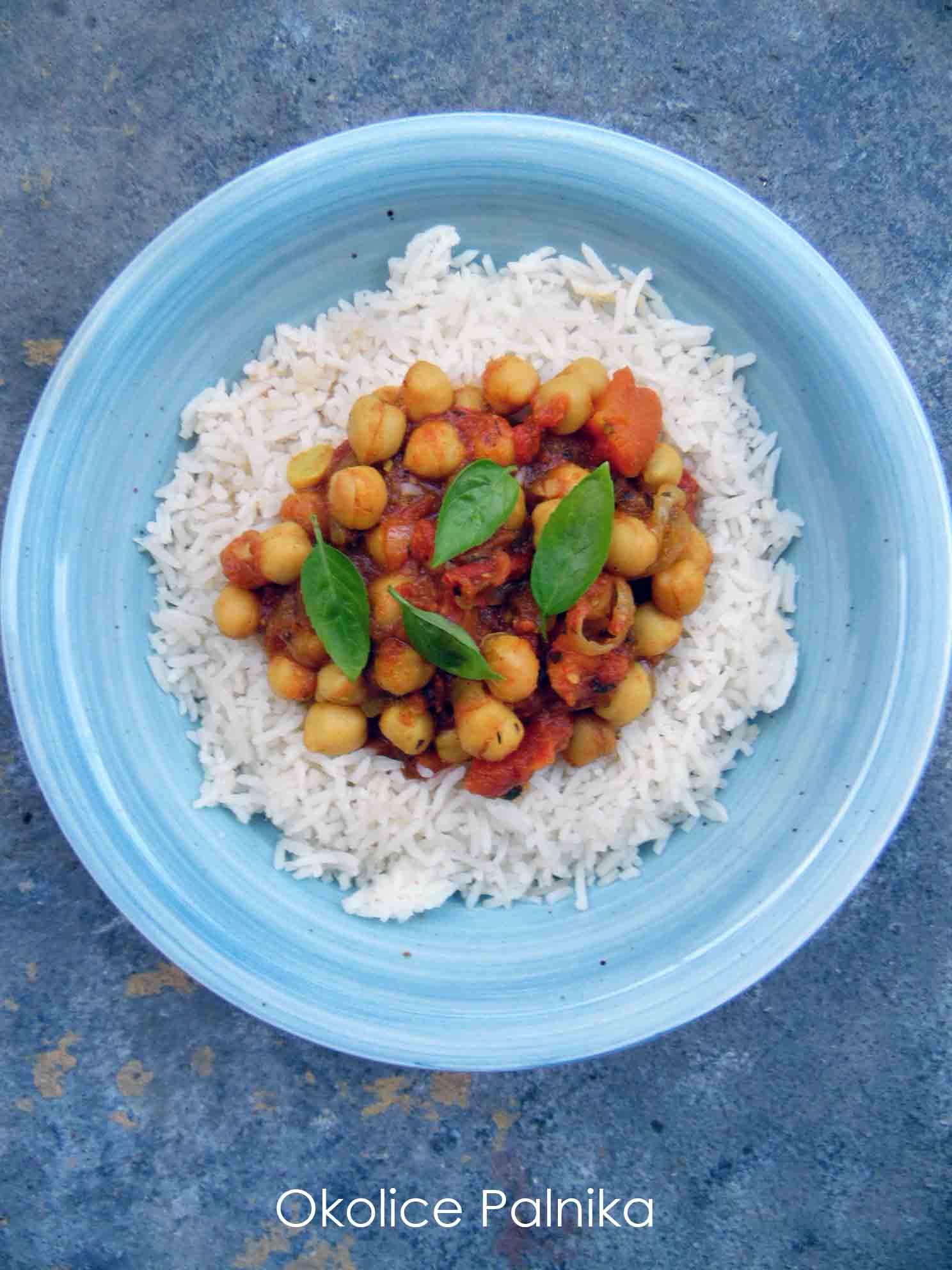 Chana masala – curry z ciecierzycą