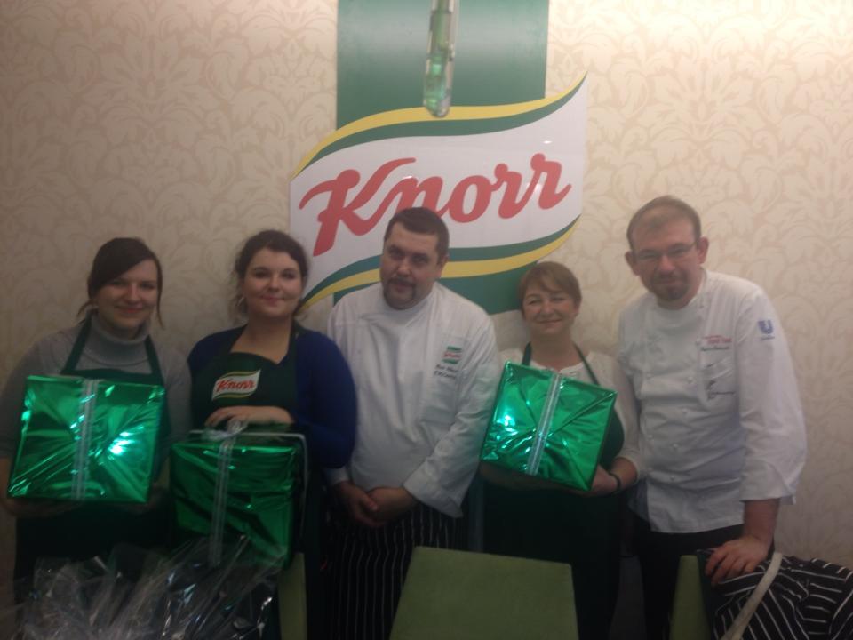 Warsztaty kulinarne Knorr
