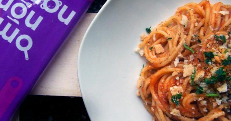 Spaghetti z wódką