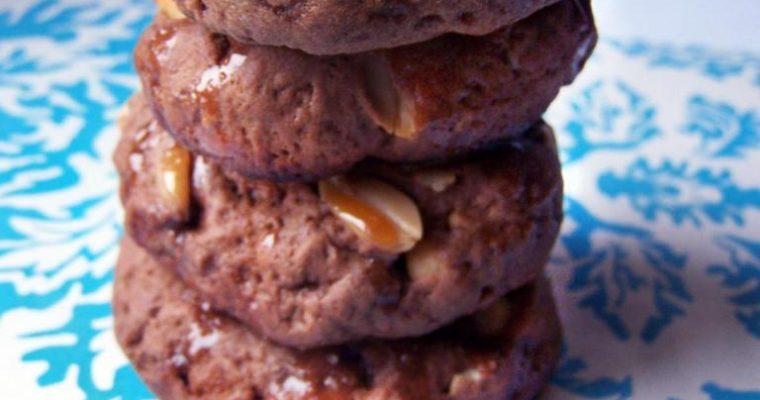 Ciasteczka a la snickers