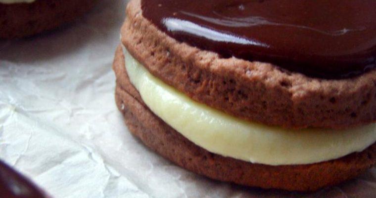Całuski miętowo-czekoladowe