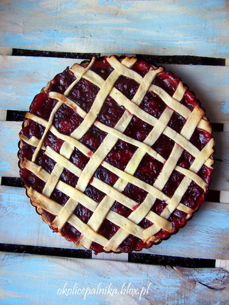 Cherry pie – amerykańskie ciasto wiśniowe
