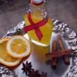 Świąteczna nalewka z pomarańczy