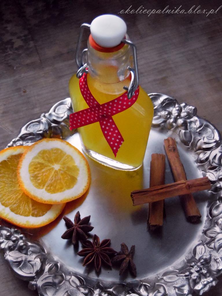 Nalewka z pomarańczy