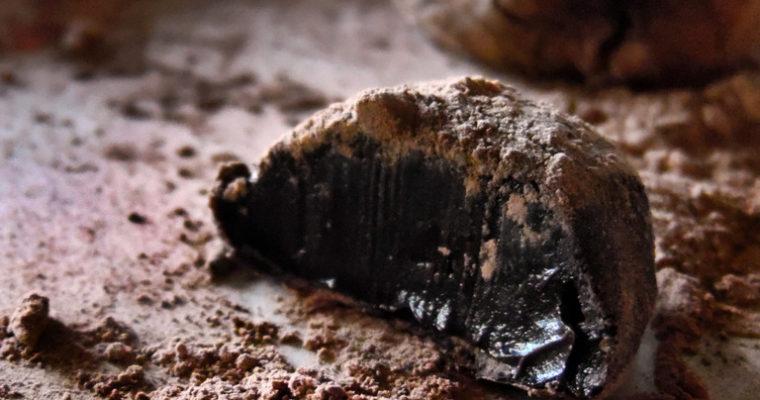Proste trufle czekoladowe z koniakiem