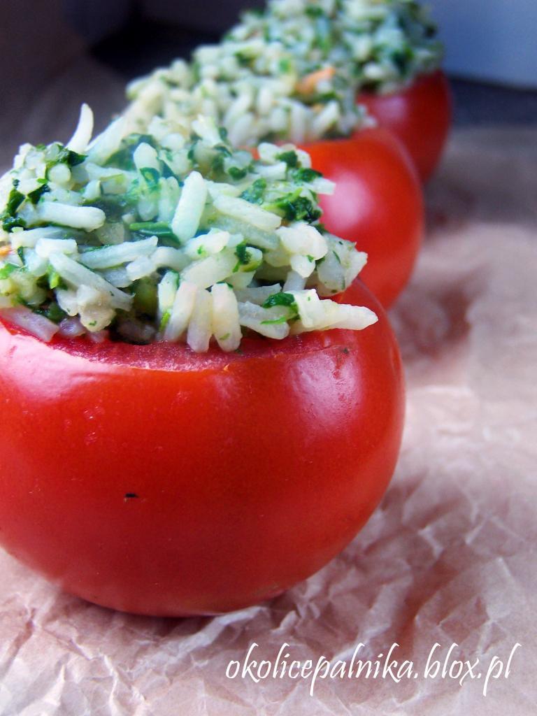 Pomidory faszerowane ryżem