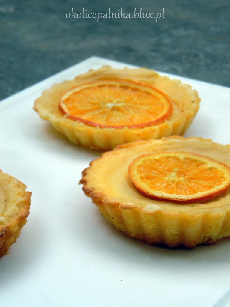 Mini tarty pomarańczowe