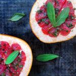 Pieczony grejpfrut – zdrowy deser