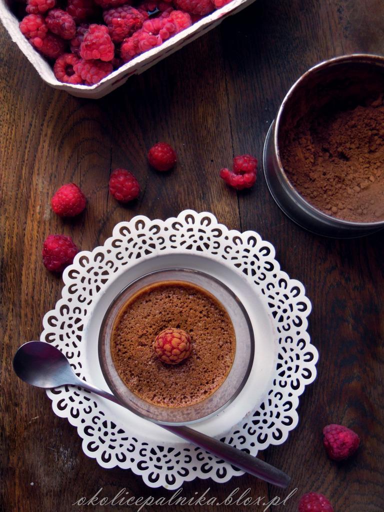 Mus czekoladowy z trzech składników