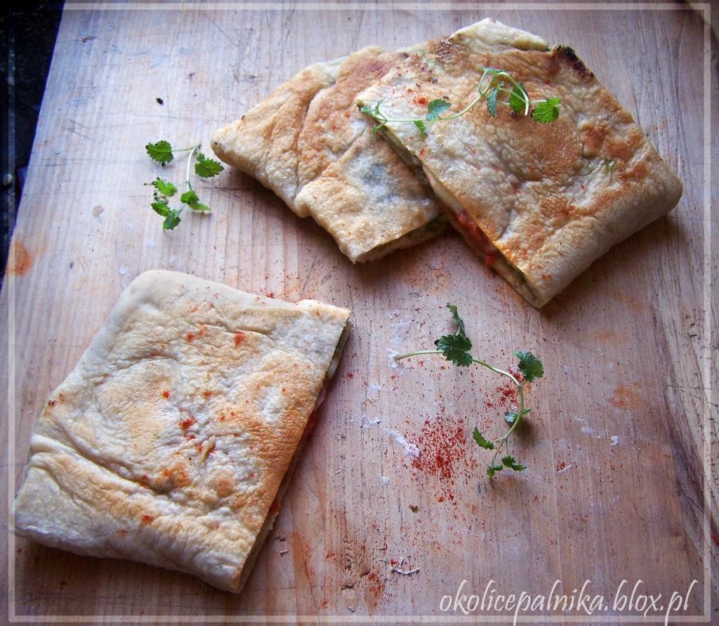 Gozleme – nadziewany turecki chlebek