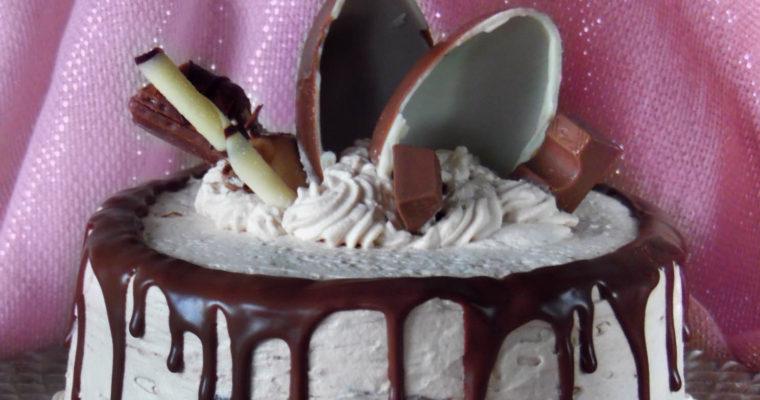 Tort Kinder – siódme urodziny bloga