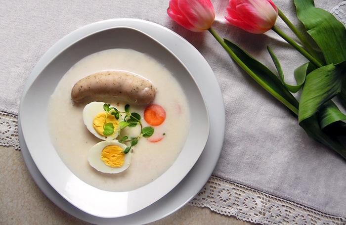 Wielkanocny barszcz biały