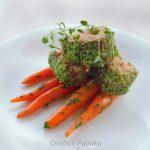 Polędwiczki wieprzowe sous vide w ziołowej skorupce