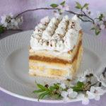 Bananowa krówka - ciasto bez pieczenia