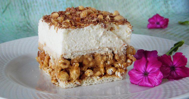 Biały lion – ciasto bez pieczenia