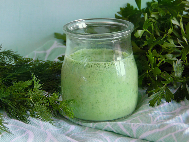 Dressing zielonej bogini