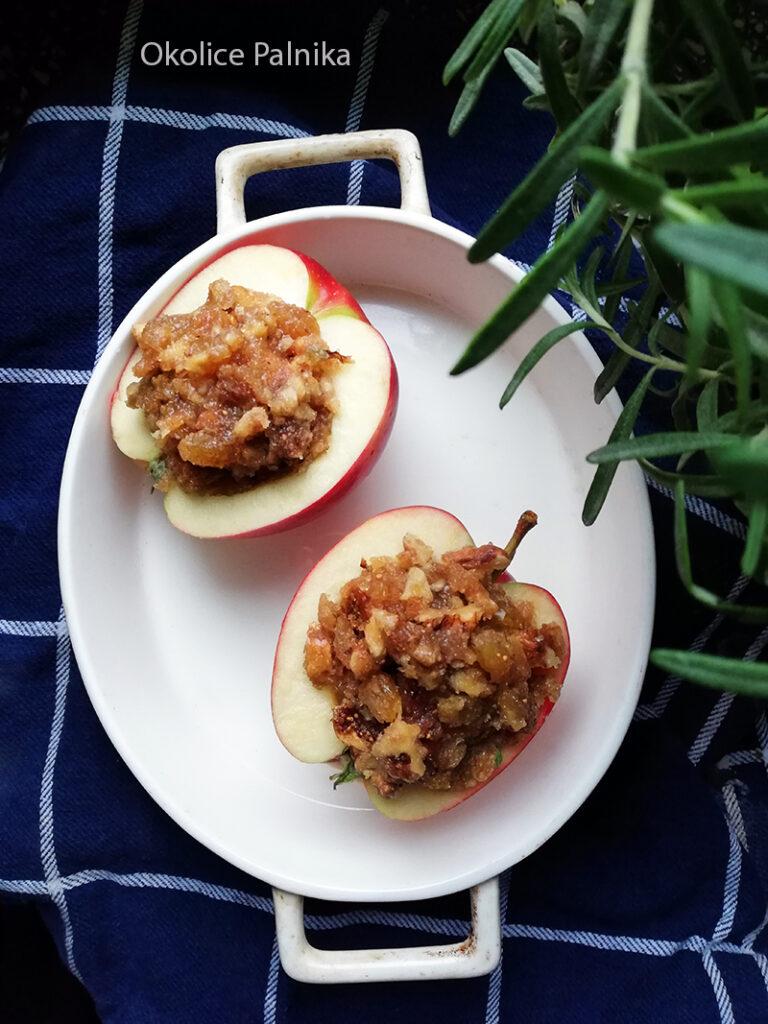 pieczone jabłka w sosie karmelowym 1