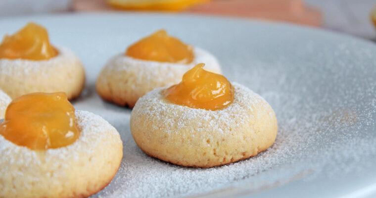 Ciasteczka z lemon curd